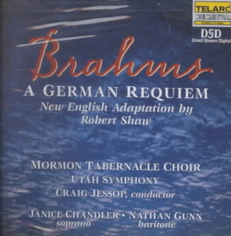 BRAHMS:GERMAN REQUIEM BY JESSOP,CRAIG (CD)